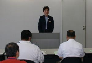 01第1日目 基礎講義(室長挨拶)