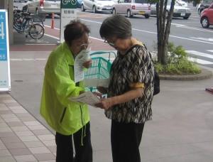 0618店頭啓発(ベイシア太田モール店①)