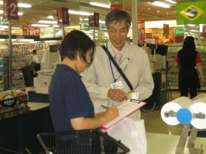 0624店頭啓発(ベイシア渋川店②)