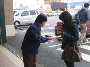 1023店頭啓発(エーコープ富岡店①)