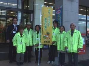 1104店頭啓発(とりせん下田島店②)