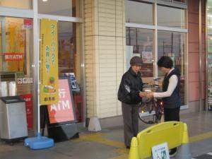 1107店頭啓発(コープぐんま藤岡店①)