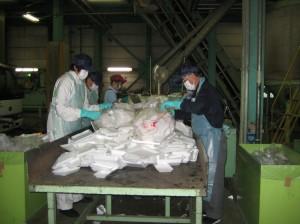 21第7日目 清掃センターの取組(リサイクル実習)