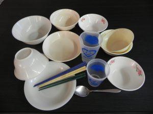 リユース食器の写真